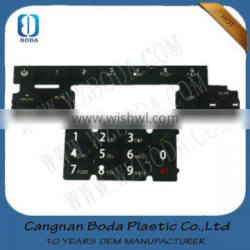 Plastic electronic custom silicon rubber button made in China