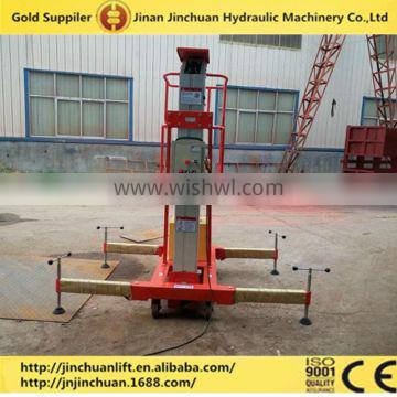 Mobile electric portable aluminum lift table,aerial working platform