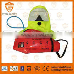 Emergency Escape Breathing Device(EEBD) with 3L steel cylinder/ aluminium composite cylinder- Ayonsafety