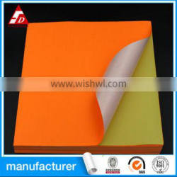 FLUORESCENT PAPER SELF ADHESIVE LABEL WITH SEAWORTHY PACKING