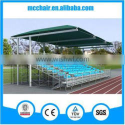 MC-GTR04 flexible metal seating scaffolding material structure temporary bleachers for sports equipments seats