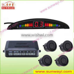 Front and Rear Parking System with LED Digital Display and Built-in Buzzer for Beeping as Reminder Quality Choice
