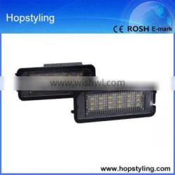 LED number plate lamp alibaba express china for golf 5/6/7 LED license plate lamp canbus no error code Car LED Light