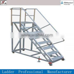 warehouse, supermarkets and emporiums steel climbing ladder