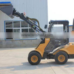 W6FD08 front end wheel loader with telescopic boom