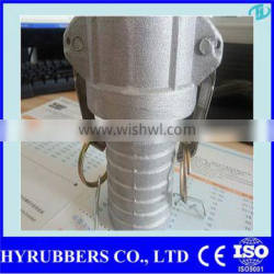 Hyrubbers metric barbed hose fittings