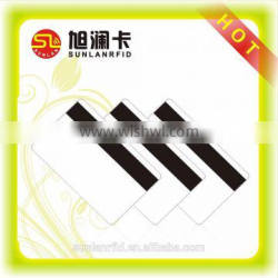 UHF Long Range Control Plastic RFID Card with Magnetic Strip