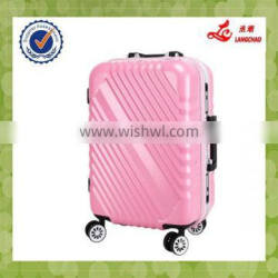 Four Colors Spinner Wheels Aluminum Protective Cover Luggage Hardshell PC Luggage