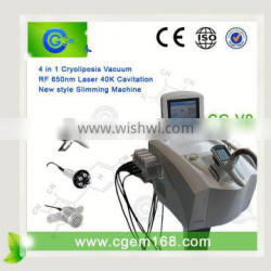 With 1 Year Lose Weight Warranty Cryolipolysis+lipolaser Machine Cool Sculpting