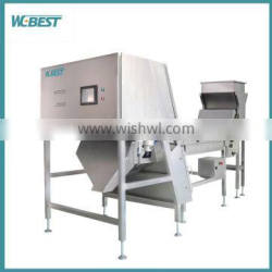 Automatic recycled plastic CCD color sorter/Hot new products for 2016 plastic color sorting machine