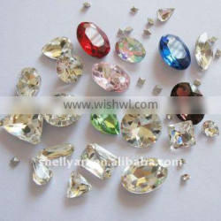 Fancy stone round oval ellipse teardrop rectangle triangle strip square