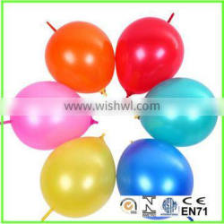 10 inch new products tail link balloon for kids