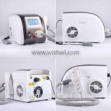 1064nm Anybeauty F12 Q Switch Nd Yag Laser Tattoo Removal Machine / Permanent Makeup Remover Machine Q Switch Laser Tattoo Removal