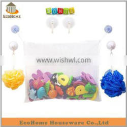 EH2105HO bath toy storage with super strong suction cup