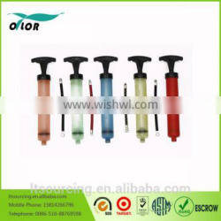 Cheap and portable Mini Manual Air Pump for balls and inflatable toys