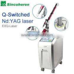 Varicose Veins Treatment Q Switched Nd Yag Laser 1000W F12laser Tattoo Removal Machine/q-switched Nd:yag Laser Tattoo Remov