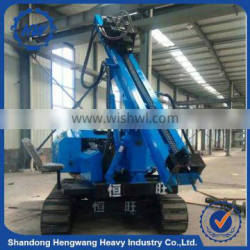 High quality crawler type pile driver hydraulic control hammer pile driver