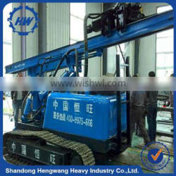 Crawler type road piling driver hammer pile driver hydraulic pile driver for sale