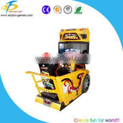 Best selling simulator arcade racing car game machine coin operated need for speed carbon game car racing