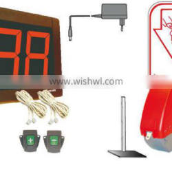 METO Turnomatic Numbering System - Start Pack w/Push Button