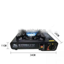 Portable commercial korean restaurant table top bbq grill