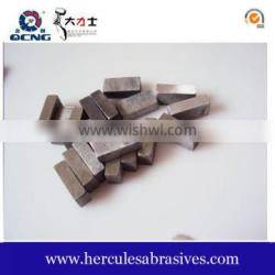 2.5mm-3.5mm thickness Gangsaw segments for 50-80pcs blades, cutting marble,sandstone,long life, Hercules Brand