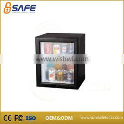 Manufacturer supply hotel room small display fridge