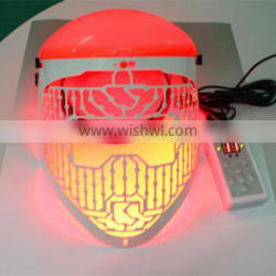 2015 Most Popular 3 Colors LED Skin Care Mask For Acne Removal