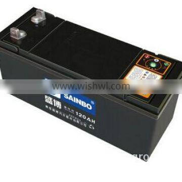 Professionally-Producing 12V150AH Lead Acid Dry Charged Car Battery for Starting