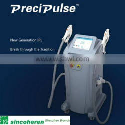 Modern design new design vertical spa use ipl hair removal machine