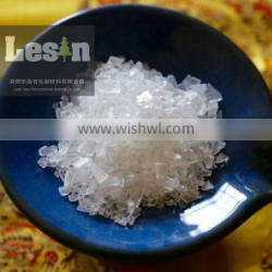 Polyester resin for PU formulations with balanced flow and mechanical properties