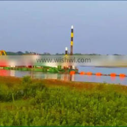 Customized small 12 Inch cutter suction river dredging equipment