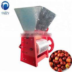Electricity automatic coffee bean peeler for green coffee bean wet peeling
