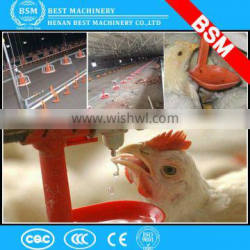 Uganda new double bowl feeder with high quality poultry chicken pan feed system