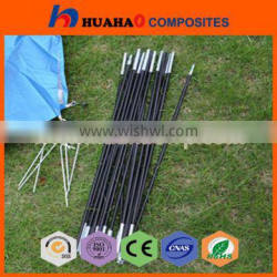Flexible Fiberglass Tent Poles High Quality High Strength Colorful UV Resistant Durable Manufacturer fiberglass tent poles