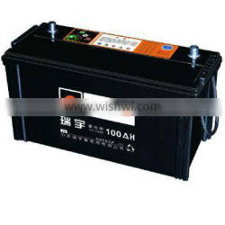 Hot Produce and Export Various Color Lead Acid Low Maintenance, Wet /MF or Dry Vehicle Battery