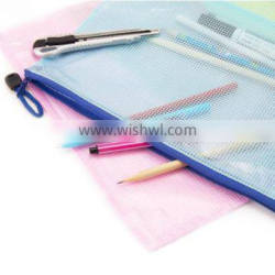 Hot Sell Clear Plastic Zipper Pouch,Custom Pencil Pouch