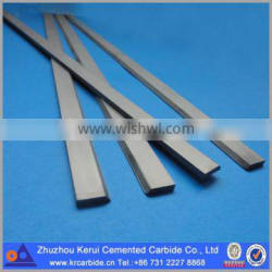 YG6X tungsten carbide strip with angle finished in ground or unground
