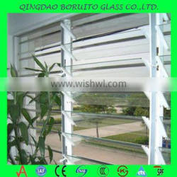 Hot sale 5mm glass louvres prices