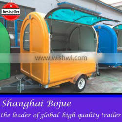 2015 HOT SALES BEST QUALITYelectric tricycle food caravan tricyle food caravan pushed food caravan