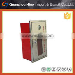 Fire hose cabinet and fire hose reel cabinet