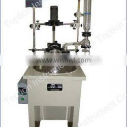 2013 top quality 10l single layer glass reactor