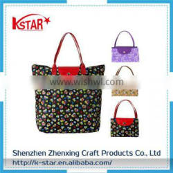 Folding Shopping bag with wheels from outside dunnage bag