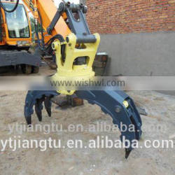 jt-17 lapis grapple for 40 tons excavator made in china cheap and good quality