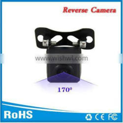 Black rear car camera with reverse image and waterproof hot selling