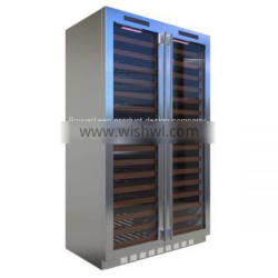 Three temperature area wine refrigerator ODM service from Chinese product development company