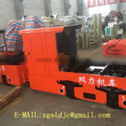 Electric Battery Locomotives Anti-explosive For Mine