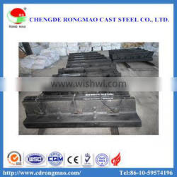 Wear-resisting ball mill alloy lining plate