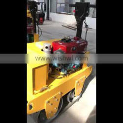 Hot sale new vibration double drum compact road roller HW-600S