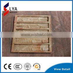Alibaba 4 years Golden Supplier decorate Wall Cladding Artificial Stone use silicone molds